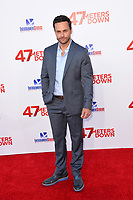 Chris J. Johnson at the Los Angeles premiere for &quot;47 Meters Down&quot; at the Regency Village Theatre, Westwood. <br /> Los Angeles, USA 12 June  2017<br /> Picture: Paul Smith/Featureflash/SilverHub 0208 004 5359 sales@silverhubmedia.com