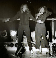 1978 FILE PHOTO<br /> New York, NY<br /> Carly Simon Karen Black at Studio 54<br /> Photo by Adam Scull-PHOTOlink.net