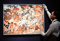 Cecily Brown, Yet to be titled, Estimate &pound;350,000 - 550,000 at Christie&rsquo;s exhibition of art from the collection of the late George Michael, featuring works by Damien Hirst, Tracey Emin and Marc Quinn, from its upcoming The George Michael Collection Evening and Online Auctions, on view to the public from 9-15 March 2019. <br /> CAP/JOR<br /> &copy;JOR/Capital Pictures