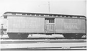 Baggage car #125 built bby D&amp;RG in 1883 as #26.  Renumbered in August 1885.<br /> D&amp;RGW    Taken by Blackburn, Ray