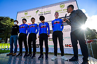 Aisan team. The opening ceremony of the NZ Cycle Classic UCI Oceania Tour at Queen Elizabeth Park in Masterton, New Zealand on Tuesday, 14 January 2020. Photo: Dave Lintott / lintottphoto.co.nz