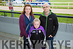 l-r  Miriam Mangan, Grainne Breen and John Breen from Hunters Wood, Tralee  enjoying  the Kerry GAA Night of Champions at the Kingdom Greyhound Stadium on Friday