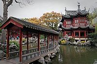 Yu Garden (Yuyuan Garden) in Shanghai, China