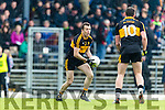 Luke Quinn Dr Crokes in action against  Kenmare District in the Senior County Football Championship final at Fitzgerald Stadium on Sunday.
