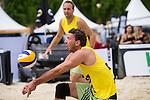09.05.2015, Muenster, Schlossplatz<br /> smart beach tour, Supercup MŸnster / Muenster, Hauptfeld<br /> <br /> Annahme Bjšrn / Bjoern Andrae<br /> <br />   Foto &copy; nordphoto / Kurth
