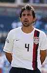 USA's Pablo Mastroeni on Saturday, June 16th, 2007 at Gillette Stadium in Foxboro, Massachusetts. The United States Men's National Team defeated Panama 2-1 in a 2007 CONCACAF Gold Cup quarterfinal game.
