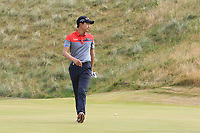 Jeunghun Wang (KOR) on the 7th green during Round 2 of the Dubai Duty Free Irish Open at Ballyliffin Golf Club, Donegal on Friday 6th July 2018.<br /> Picture:  Thos Caffrey / Golffile