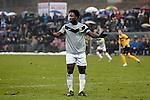 Nederland, Venlo, 9 december  2012.Eredivisie.Seizoen 2012/2013.VVV-VItesse 3-1.Wilfried Bony van Vitesse baalt van de 3-1 nederlaag tegen VVV