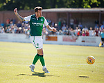 30.06.18 Linlithgow Rose v Hibs: Danny Swanson scores the opening goal for Hibs