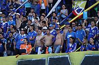 BOGOTÁ- COLOMBIA,5-06-2019:Eliminado Millonarios.Acción de juego entre los equipos Millonarios y el  América de Cali durante el sexto partido de los cuadrangulares finales de la Liga Águila I 2019 jugado en el estadio Nemesio Camacho El Campín de la ciudad de Bogotá. /eliminated Millionaires.Action game between teams Millonarios and America de  Cali during the sixth match for the quarter finals B of the Liga Aguila I 2019 played at the Nemesio Camacho El Campin stadium in Bogota city. Photo: VizzorImage / Felipe Caicedo / Staff