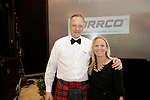 Southington, CT- 03 May 2017-050317CM13-  Social moments from left, Waterbury Fire Chief Dave Martin and his wife Melissa Martin are photographed during a United Way of Greater Waterbury celebration at the Aqua Turf on Wednesday.         Christopher Massa Republican-American