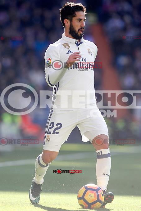 Real Madrid's Isco Alarcon during La Liga match. January 7,2016. (ALTERPHOTOS/Acero) . NORTEPHOTO.COM