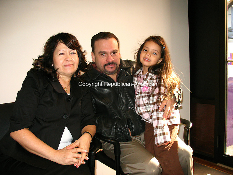 WATERBURY, CT - On Friday, Destiny, 4, was made a permanent member of Gloria and Jose Toro's family at Waterbury Probate Court during National Adoption Month.