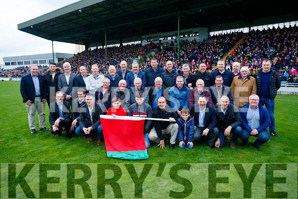 The 1992 Mid Kerry team honoured at half time of the Senior County Football Final in Austin Stack Park on Sunday