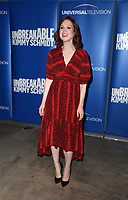 """29 May 2019 - Los Angeles, California - Ellie Kemper. NBC FYC Series """"Unbreakable Kimmy Schmidt"""" held at UCB Sunset Theatre.   <br /> CAP/ADM/FS<br /> ©FS/ADM/Capital Pictures"""