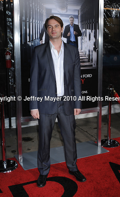 "HOLLYWOOD, CA. - January 19: Director Tom Vaughan arrives to the ""Extraordinary Measures"" Los Angeles Premiere at Grauman's Chinese Theatre on January 19, 2010 in Hollywood, California.`"
