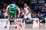 S&ouml;dert&auml;lje 2014-03-25 Basket SM-kvartsfinal 1 S&ouml;dert&auml;lje Kings - J&auml;mtland Basket :  <br /> J&auml;mtlands Adama Darboe i aktion <br /> (Foto: Kenta J&ouml;nsson) Nyckelord:  S&ouml;dert&auml;lje Kings SBBK J&auml;mtland Basket SM Kvartsfinal Kvart T&auml;ljehallen