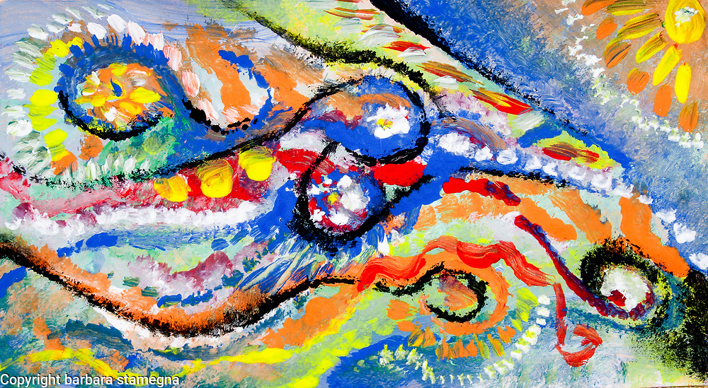 Abstract Art Shapes And Lines
