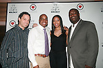 "Sebastian ""Siba"" Bardin-Greenberg, Rene John-Sandy, Bobbi Baker-James and DJ Jon Quick Attend Beauty and the Beat Vol 2: Heroines for Haiti Hosted by Actress Bobbi Baker-James With DJ Jon Quick Select, The Hip Hop Loves Foundation and Love No Limit Honoring Model Maya Haile, Doris Haircare CEO Marlene Duperley, JRT Multimedia LLC Founder Jocelyn Taylor, Lamb to a Lion Productions CEO Setor Attipoe, Wagner Wolf Publishing CEO and Author Shermian P. Daniel, MD, Cute Beltz Clothing Company Owner Kristen Stevens, Johnny Vincent Swimwear Owner and Chief Designer Celeste Johnny and Visual Artist and Hip Hop Loves Boxing Programs in NYC and LA Founder Vanessa Chakour - Music by DJ Vidal, DJ CEO and DJ Jon Quick Held at Cielo, New York 3/25/2011"