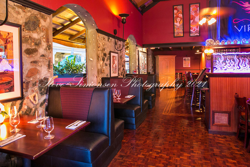 Virgin Fire restaurant<br />