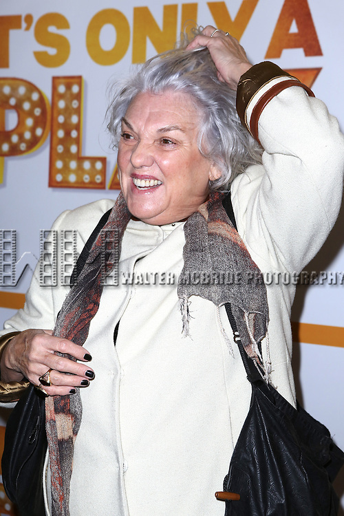 Tyne Daly attends the Re-Opening Night of 'It's Only A Play'  at the Bernard B. Jacobs Theatre on January 23, 2014 in New York City.