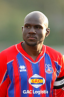 Crystal Palace defender Ibrahim Kante (4). Crystal Palace FC USA of Baltimore (USL2) defeated the New York Red Bulls (MLS) 2-0 during a Lamar Hunt US Open Cup third round match at Lawrence E. Knight Stadium in Annapolis, Maryland, on July 01, 2008.