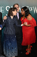 Sally Hawkins, Guillermo del Toro &amp; Octavia Spencer at the Los Angeles premiere of &quot;The Shape of Water&quot; at the Academy of Motion Picture Arts &amp; Sciences, Beverly Hills, USA 15 Nov. 2017<br /> Picture: Paul Smith/Featureflash/SilverHub 0208 004 5359 sales@silverhubmedia.com
