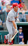 13 March 2006: Scott Rolen, infielder for the St. Louis Cardinals, at bat during a Spring Training game against the Atlanta Braves at The Ballpark at Disney's Wide World of Sports, in Orlando, Florida. The Cardinals defeated the Braves 9-0 in Grapefruit League play...Mandatory Photo Credit: Ed Wolfstein Photo..