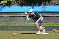 Action from the CSW Bowls Singles Championships at Johnsonville Bowling Club, Johnsonville, New Zealand on Thursday 20 February 2014.<br /> Photo by Masanori Udagawa.<br /> www.photowellington.photoshelter.com.