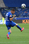Steven Zuber (Hoffenheim).<br /> <br /> Sport: Fussball: 1. Bundesliga: Saison 19/20: 28. Spieltag: TSG 1899 Hoffenheim - 1. FC Koeln, 27.05.2020<br /> <br /> Foto: Markus Gilliar/GES/POOL/PIX-Sportfotos.<br /> <br /> Nur für journalistische Zwecke! Only for editorial use!<br /> <br /> Gemäß den Vorgaben der DFL Deutsche Fußball Liga ist es untersagt, in dem Stadion und/oder vom Spiel angefertigte Fotoaufnahmen in Form von Sequenzbildern und/oder videoähnlichen Fotostrecken zu verwerten bzw. verwerten zu lassen. DFL regulations prohibit any use of photographs as image sequences and/or quasi-video.