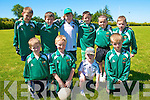 U-10 Go-Games Competition:Ballydonoghuel U-10 team that took part in the Kerry County Board's Go Games competition held In St Senan's GAA  grounds , Mountcoal on Sunday last. Front: Sean Costello, Ryan O'Neill, Tom Foley &Joey Keane. Back:Tadgh Molyneaux, James Donegan, Pete Wyel, Darragh Toomey-Keane, Liam Halpin & Alan Foley.