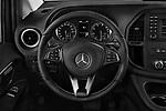 Car pictures of steering wheel view of a 2019 Mercedes Benz Metris Base 5 Door Combi