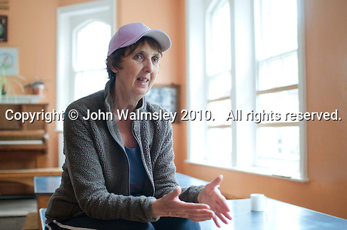 Zoe Readhead, Head of Summerhill School, Leiston, Suffolk. The school was founded by A.S.Neill in 1921 and is run on democratic lines with each person, adult or child, having an equal say.  You don't have to go to lessons if you don't want to but could play all day.  It gets above average GCSE exam results.