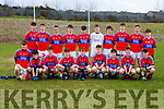 The IS Killorglin team that played St Brendans College in the Frewen Cup in Killarney on Wednesday
