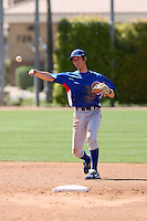 Hak-Ju Lee, Chicago Cubs minor league spring training..Photo by:  Bill Mitchell/Four Seam Images.