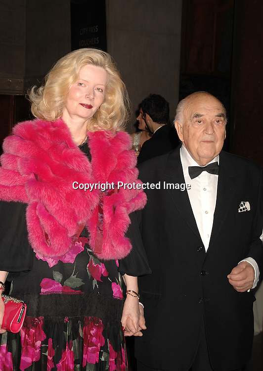 Lady Annabelle and Lord George Weidenfeld ..at The Pen American Center's Literary Gala on April 30, 2007 at The American Museum of Natural History in New York City.