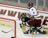 Celeste Doucet (Vermont - 12), Tracy Johnson (BC - 5) - The University of Vermont Catamounts defeated the Boston College Eagles 5-1 on Saturday, November 7, 2009, at Conte Forum in Chestnut Hill, Massachusetts.