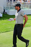 Jason Day (AUS) steps on the first tee during round 2 Four-Ball of the 2017 President's Cup, Liberty National Golf Club, Jersey City, New Jersey, USA. 9/29/2017.<br /> Picture: Golffile | Ken Murray<br /> <br /> All photo usage must carry mandatory copyright credit (&copy; Golffile | Ken Murray)
