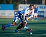 UTRECHT -  Teun Kropholler (Adam)   tijdens  de hoofdklasse hockeywedstrijd mannen, Kampong-Amsterdam (4-3).  COPYRIGHT KOEN SUYK