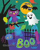 Patrick, CUTE ANIMALS, LUSTIGE TIERE, ANIMALITOS DIVERTIDOS, paintings+++++,GBIDHM279,#ac#, EVERYDAY ,halloween ,ghosts