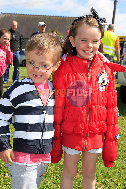 Al and Elle McAuley at the Duleek Fair day.<br /> Picture: Fran Caffrey www.newsfile.ie