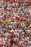 2 September 2006: Stanford fans during Stanford's 48-10 loss to the Oregon Ducks at Autzen Stadium in Eugene, OR.
