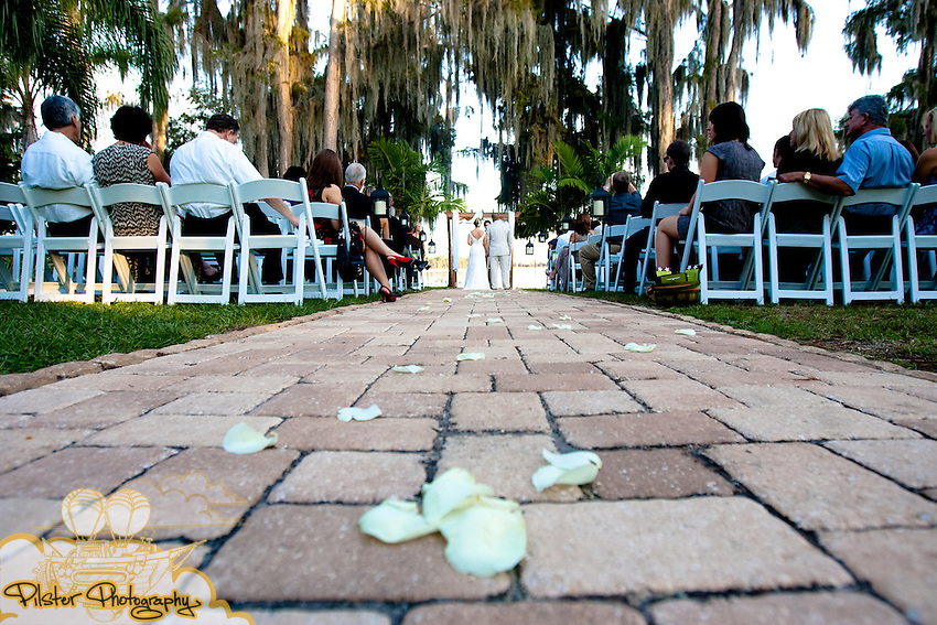 The wedding of Kelly Kennedy to Hank Musselman on Saturday, October 25, 2009, at Paradise Cover at Lake Buena Vista Watersports in Orlando. (Chad Pilster, pilsterphotography.net)