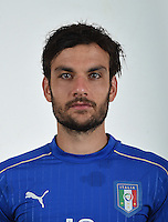 FLORENCE, ITALY - JUNE 01:  Marco Parolo of Italy poses for a photo ahead of the UEFA Euro 2016 at Coverciano on June 1, 2016 in Florence, Italy.  Foto Claudio Villa/FIGC Press Office/Insidefoto
