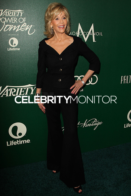 BEVERLY HILLS, CA, USA - OCTOBER 10: Jane Fonda arrives at the 2014 Variety Power Of Women held at the Beverly Wilshire Four Seasons Hotel on October 10, 2014 in Beverly Hills, California, United States. (Photo by Celebrity Monitor)