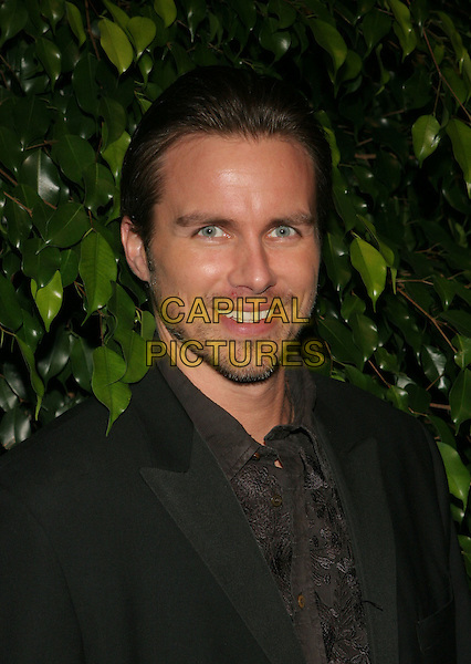 BRODY HUTZLER.The 'Days of Our Lives' 40th Anniversary party. Los Angeles, California..USA, United States..11th November 2005.Ref:ADM/ZL.portrait headshot black shirt tie jacket stubble beard smiling posed.www.capitalpictures.com.sales@capitalpictures.com.© Capital Pictures.
