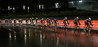 PICTURE BY MARK GREEN/SWPIX.COM ATP  Tour of Abu Dhabi - Yas Island Stage, UAE, 26/02/17<br /> Reflections in the rain on the Yas Marina stage of the 2017 Tour of Abu Dhabi