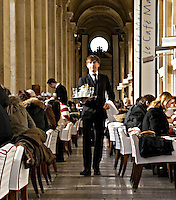 Le Cafe Marly next to the Louvre Musee Paris..©shoutpictures.com.john@shoutpictures.com