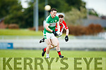 West Kerry in action against Shaun Keane Legion in the Quarter Final of the Kerry Senior County Championship at Austin Stack Park on Sunday.
