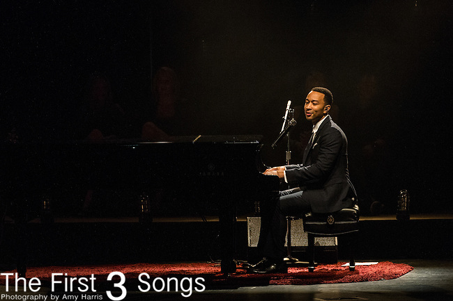 John Legend performs at the Old National Centre in Indianapolis